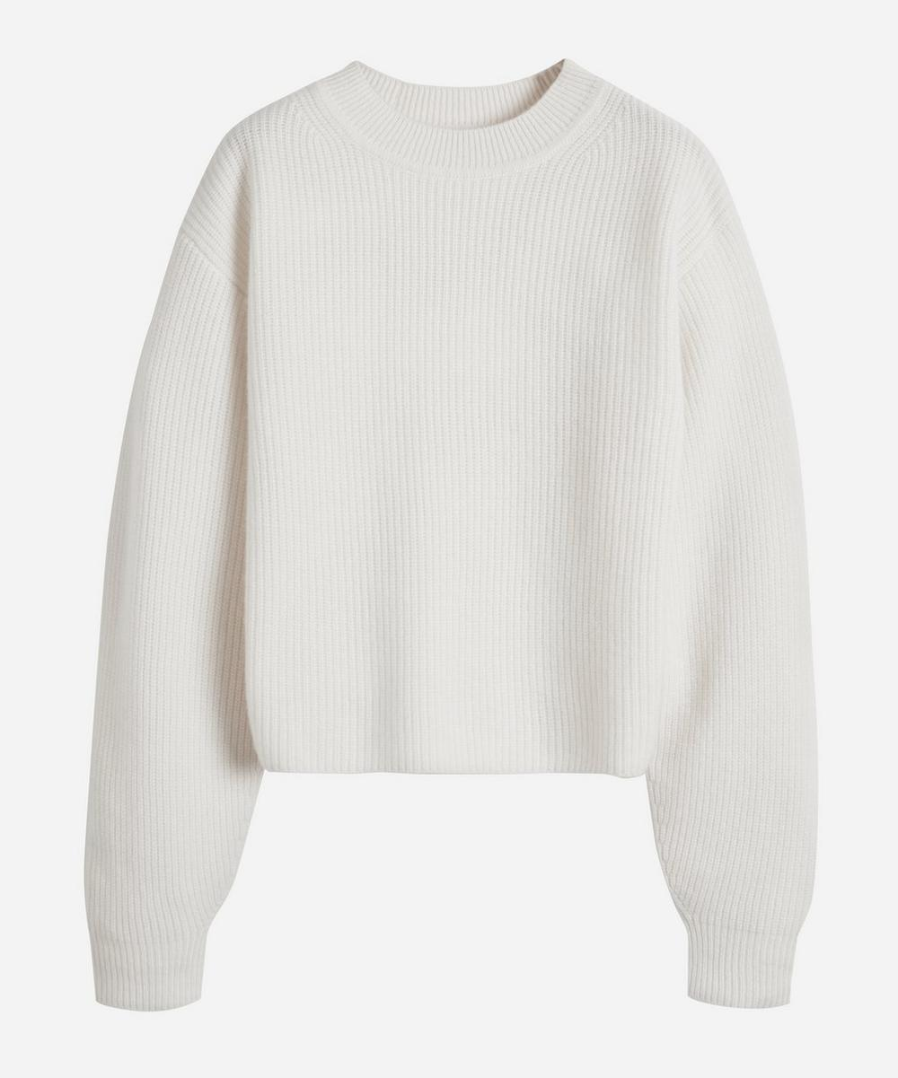 Le Kasha - Ribbed Crew-Neck Cashmere Sweater