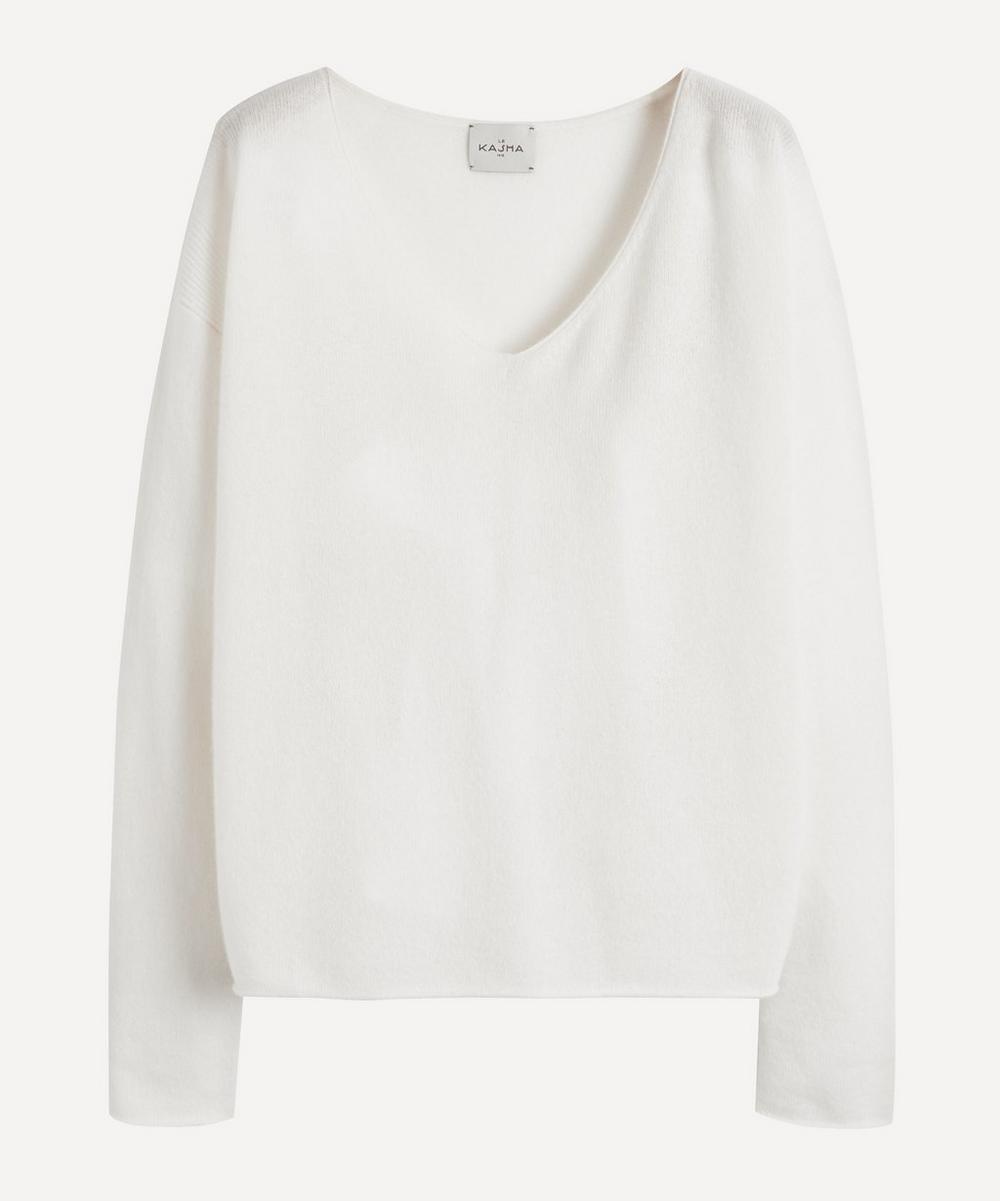Le Kasha - Lightweight V-Neck Cashmere Sweater