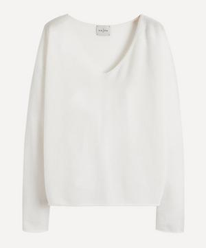 Lightweight V-Neck Cashmere Sweater