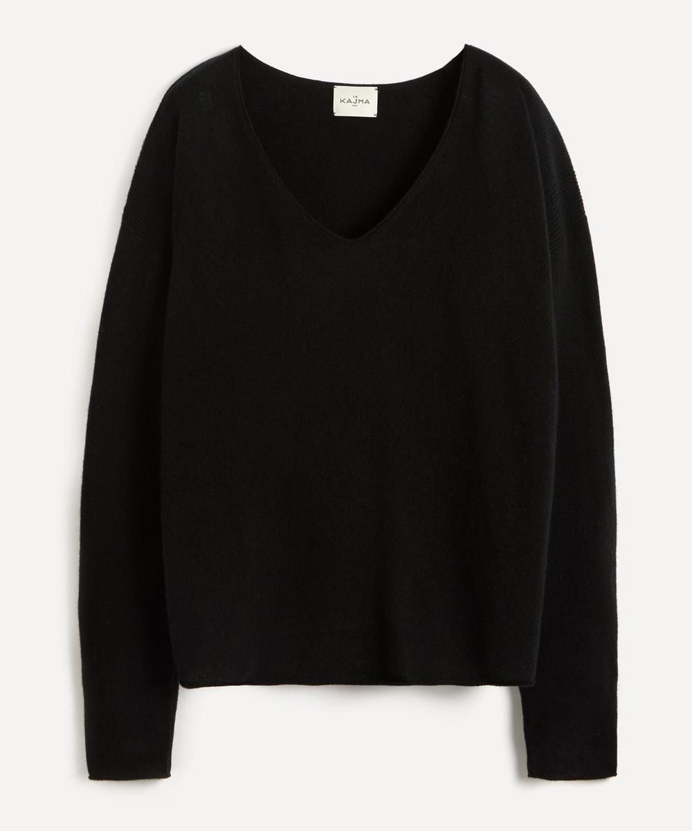 Le Kasha - Lightweight V-Neck Cashmere Sweater