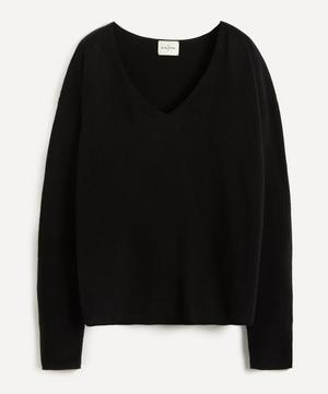 Lightweight V-Neck Cashmere Sweater