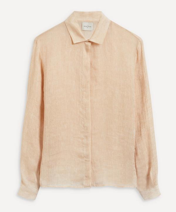 Le Kasha - Sanbu Linen Shirt