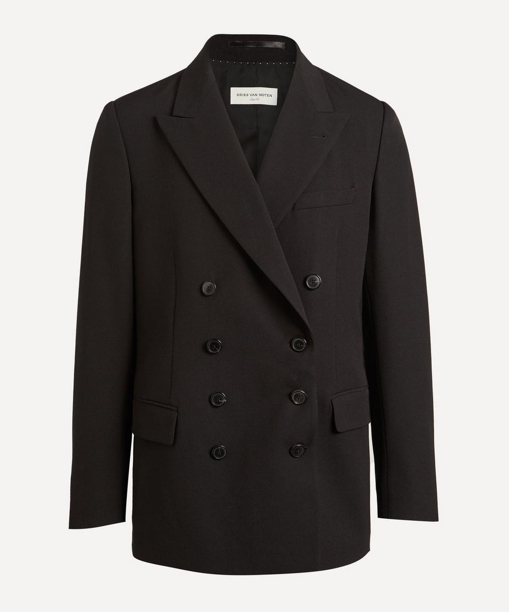 Dries Van Noten - Browery Double-Breasted Wool Blazer