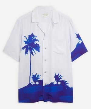 Carltone Palm Tree Short-Sleeve Shirt