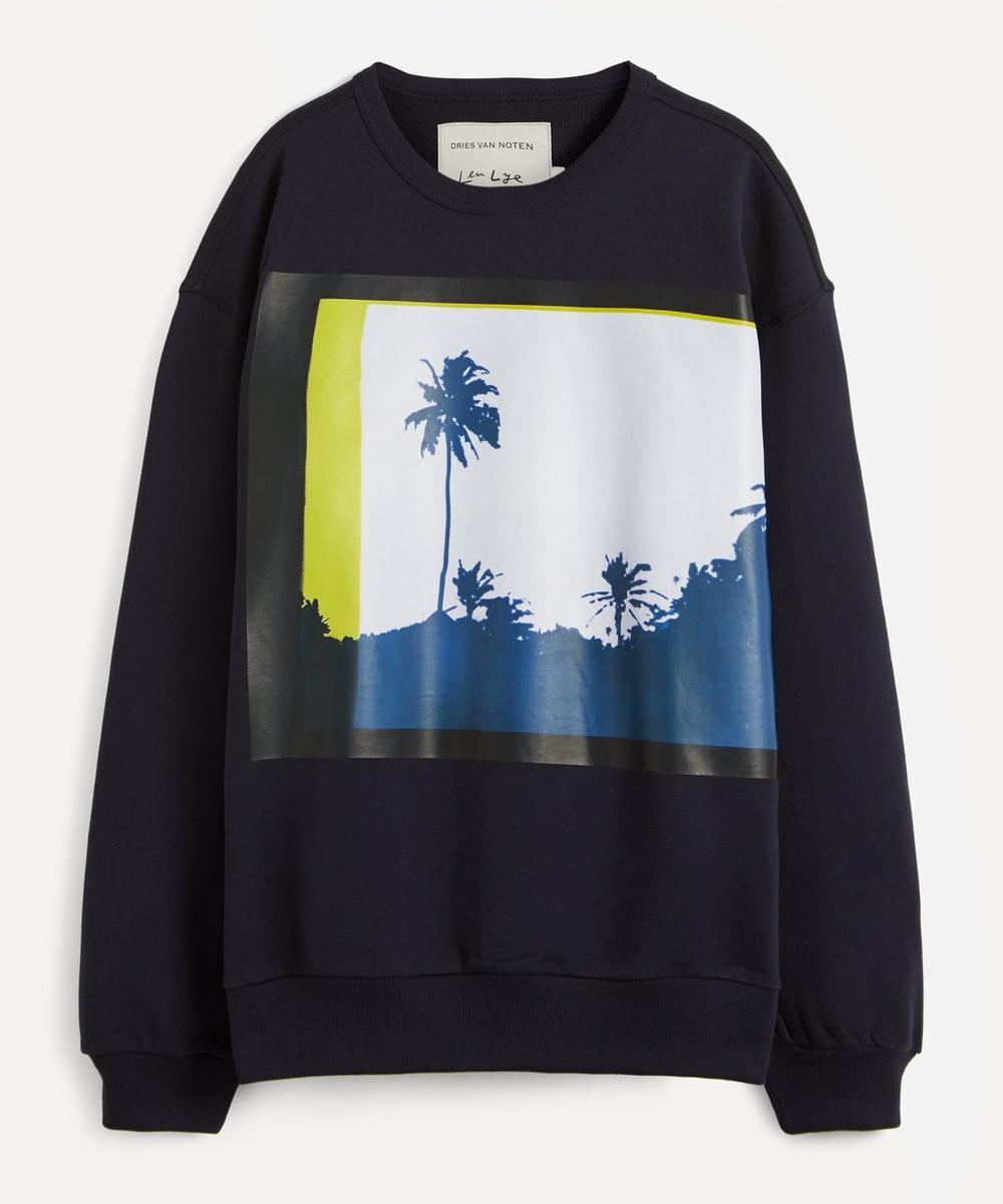 Dries Van Noten - Palm Print Jersey Sweatshirt