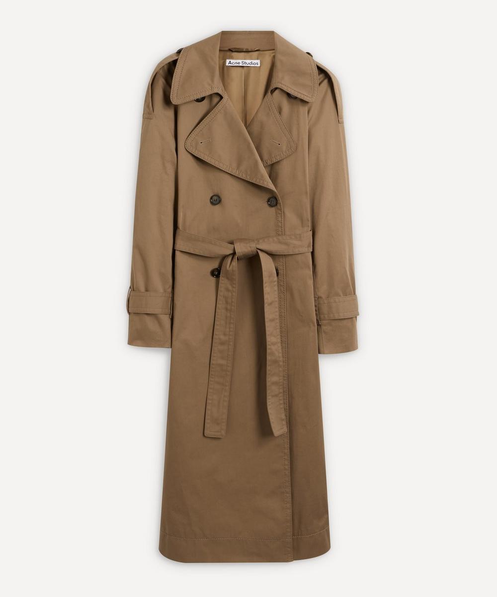 Acne Studios - Cotton Trench Coat