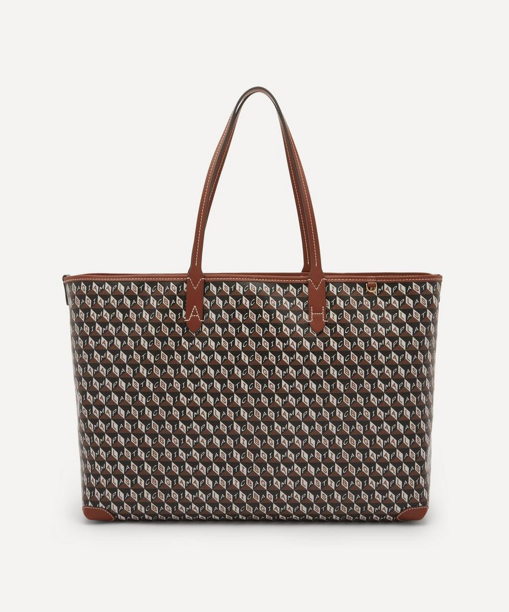 Anya Hindmarch - I Am A Plastic Bag Recycled Coated Canvas Tote Bag