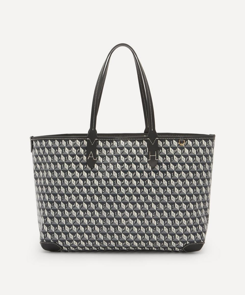 Anya Hindmarch - I Am A Plastic Bag Small Recycled Coated Canvas Tote Bag