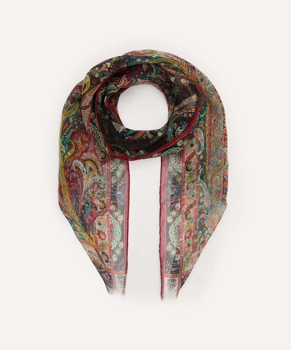 Etro - Paisley Silk Scarf