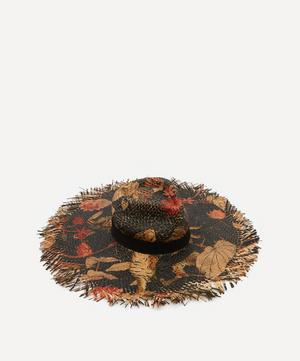 Painted Tiger Straw Hat