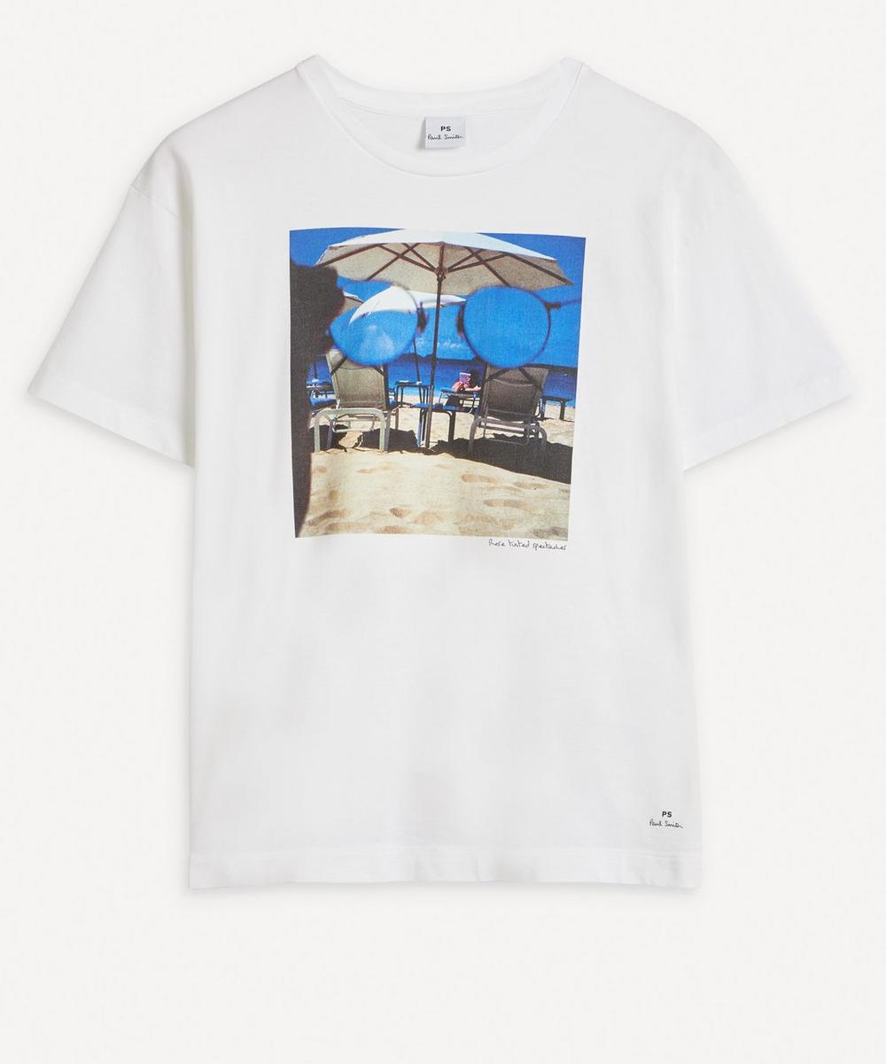 Paul Smith - 'Rose Tinted Spectacles' Print T-Shirt