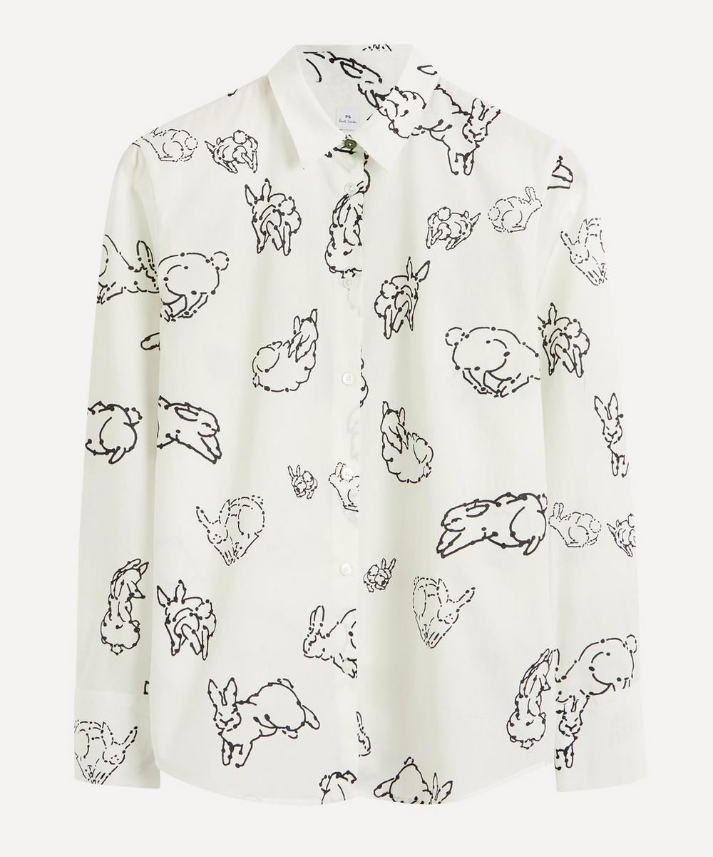 PS Paul Smith - Bunny Motif Cotton Shirt