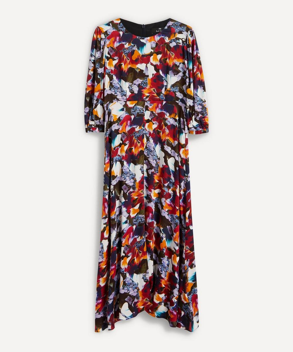 PS Paul Smith - Floral Print Long-Sleeve Dress