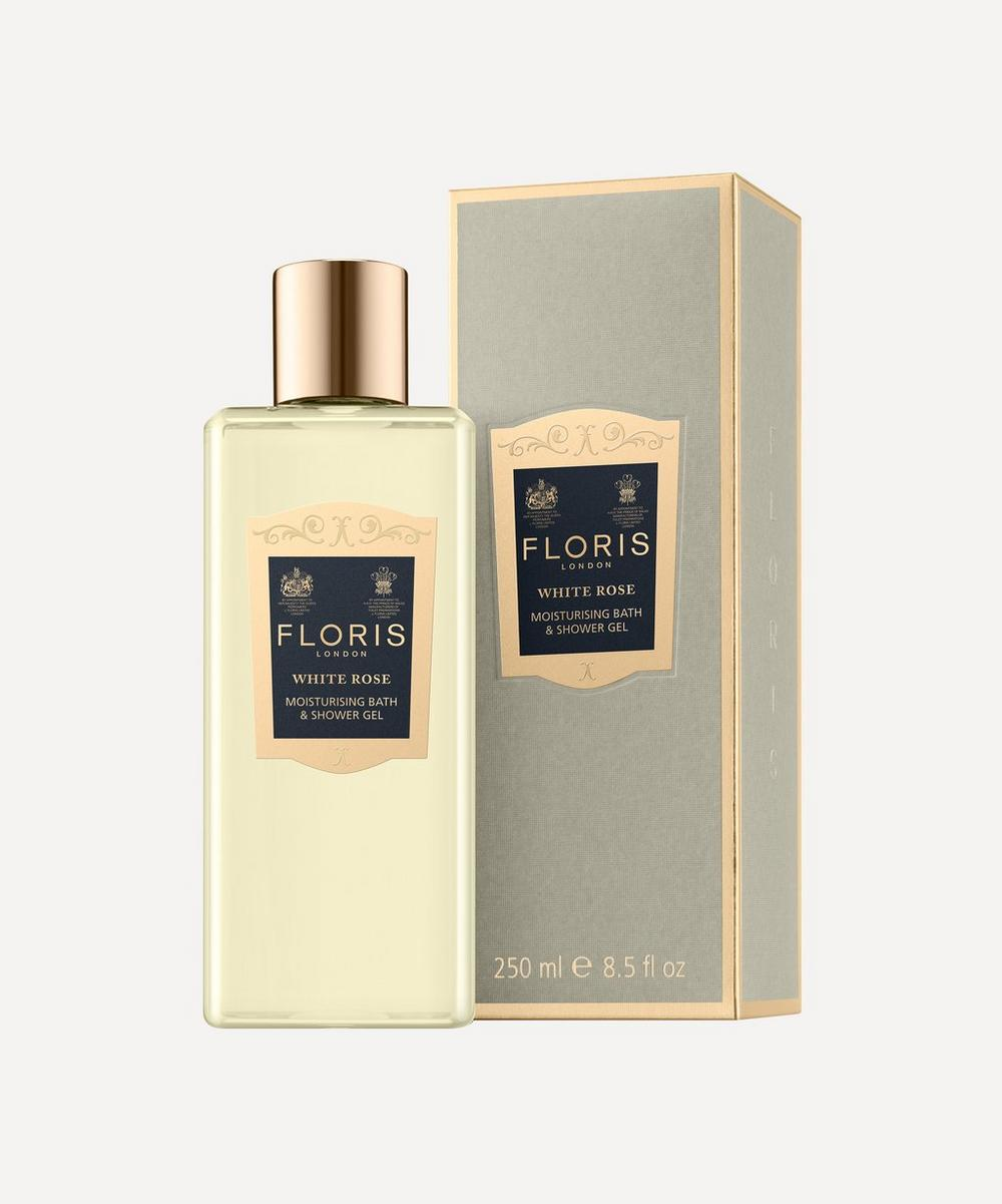 Floris London - White Rose Moisturising Bath & Shower Gel 250ml