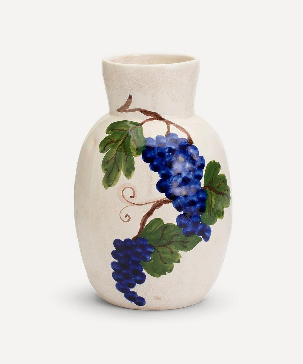 Anna + Nina - Grapes Ceramic Vase