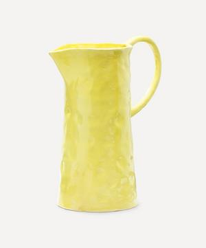 Lemonade Yellow Ceramic Carafe