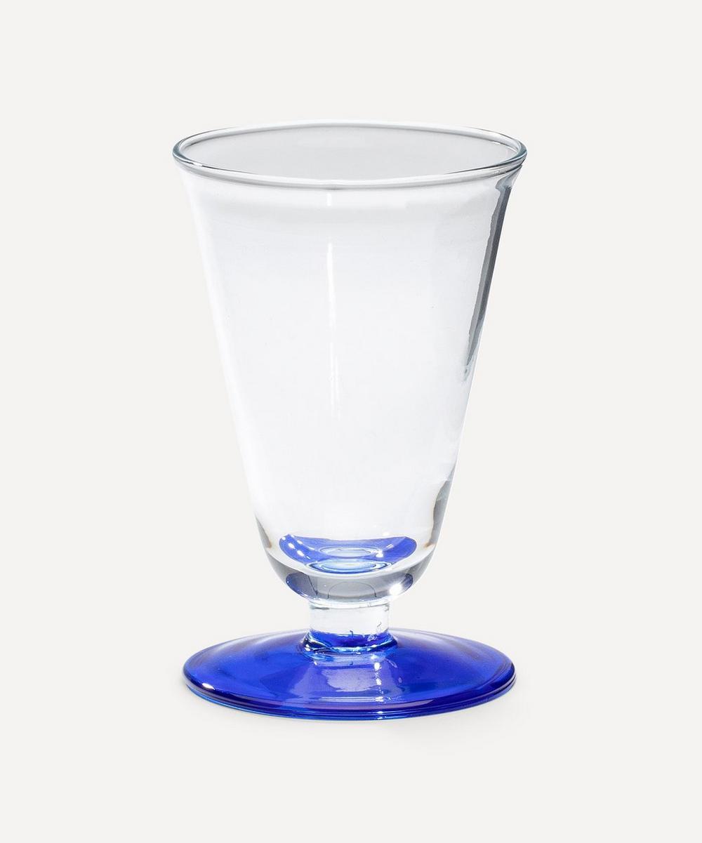 Anna + Nina - Wine Glass Cobalt Blue
