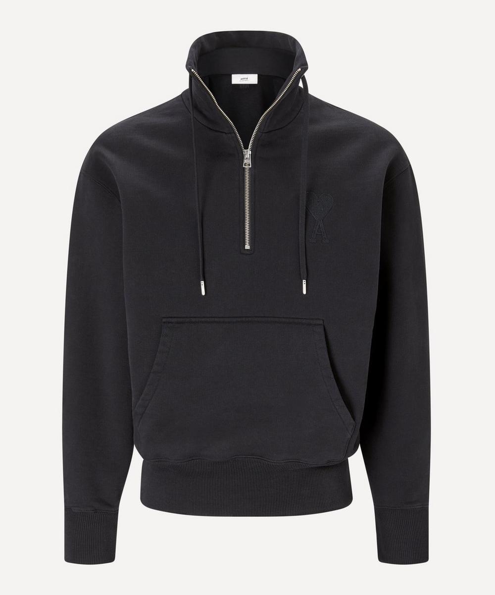 Ami - Ami de Cœur Zipped Collar Sweatshirt