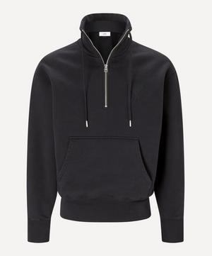 Ami de Cœur Zipped Collar Sweatshirt