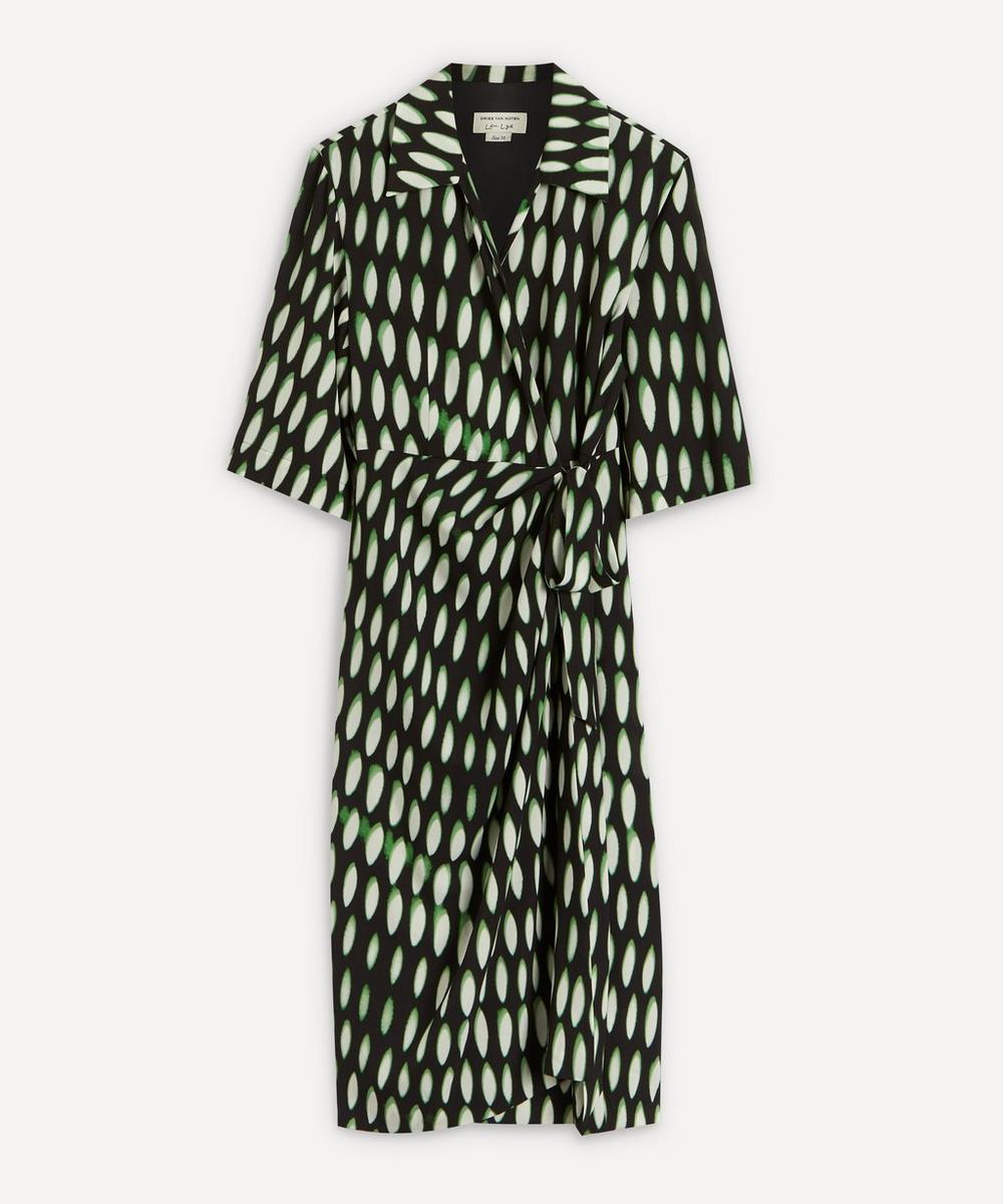 Dries Van Noten - Lightweight Printed Crepe Dress