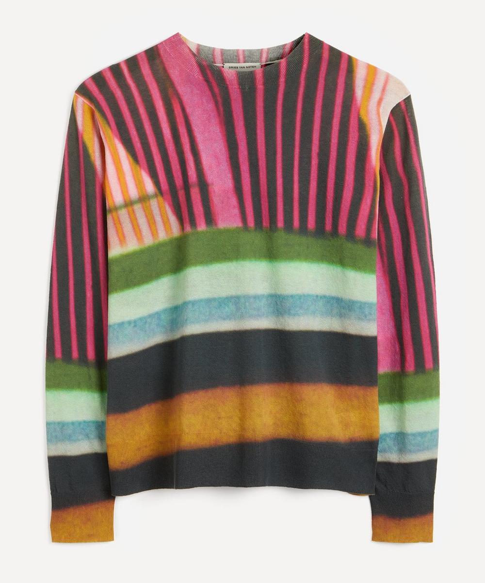 Dries Van Noten - Stripe Print Sweater