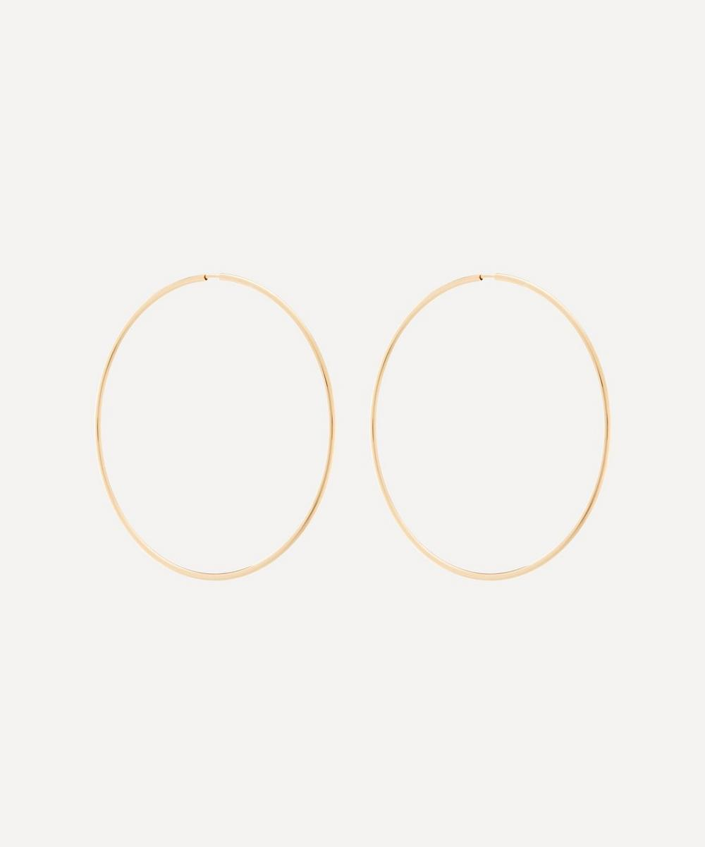 Maria Black - Gold-Plated Senorita 70 Hoop Earrings