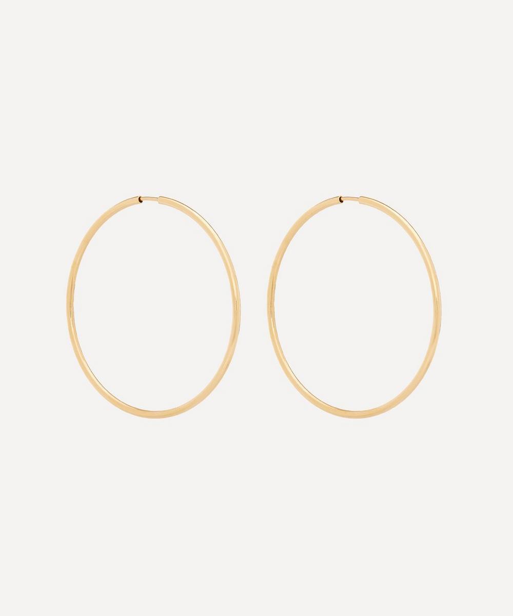Maria Black - Gold-Plated Senorita 50 Hoop Earrings