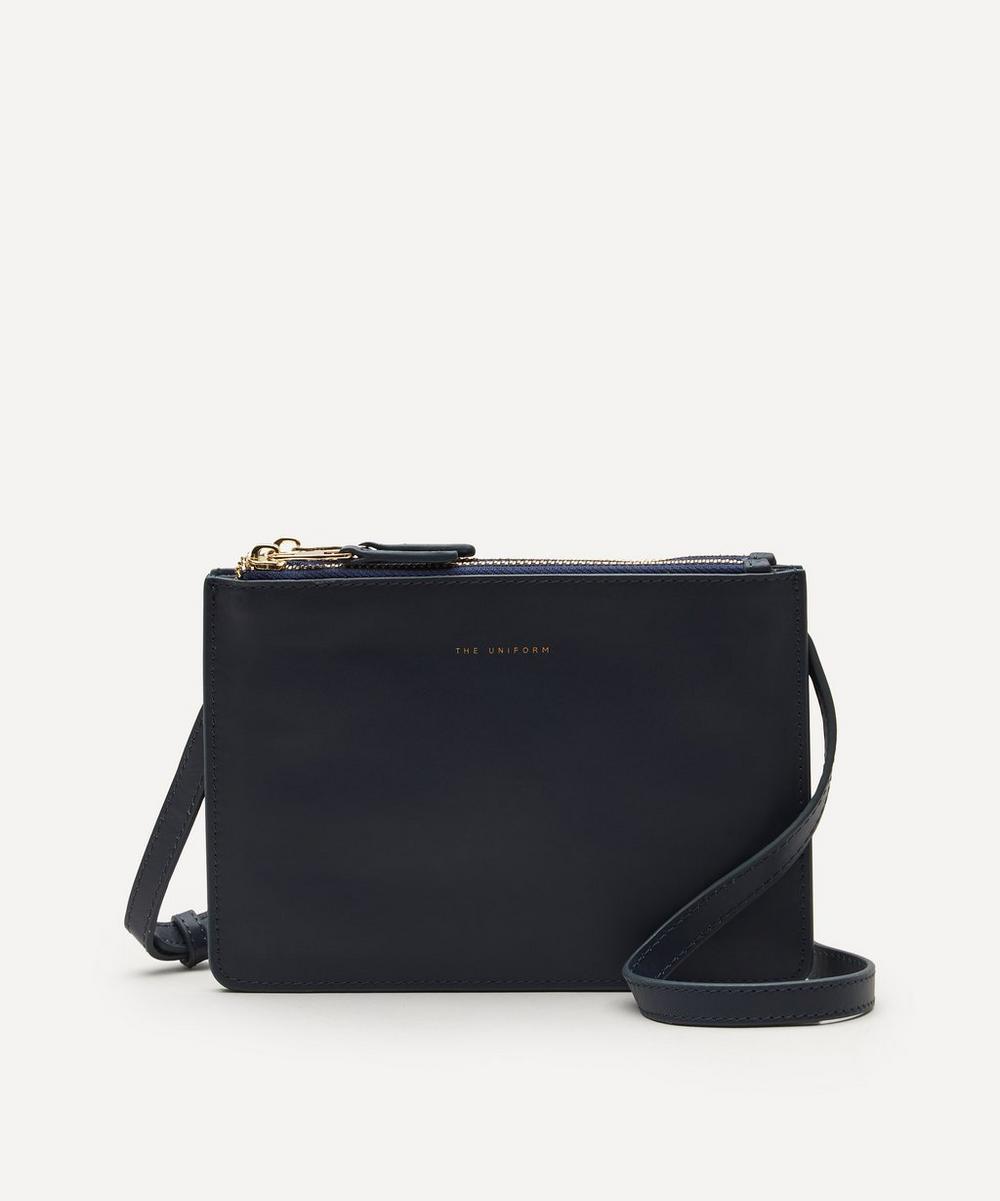 THE UNIFORM - Leather Duo Cross-Body Bag