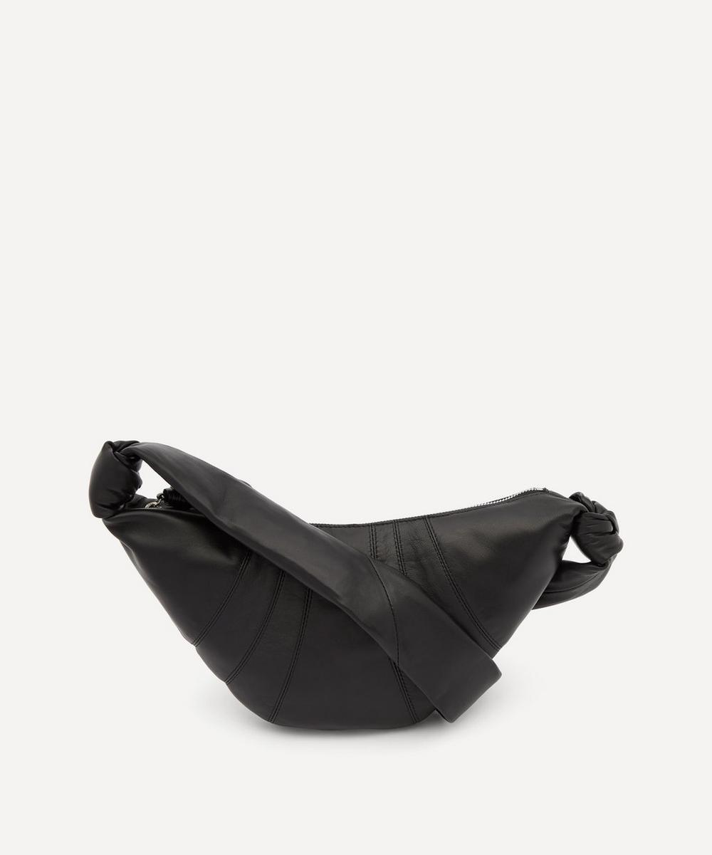 Lemaire - Small Leather Croissant Shoulder Bag