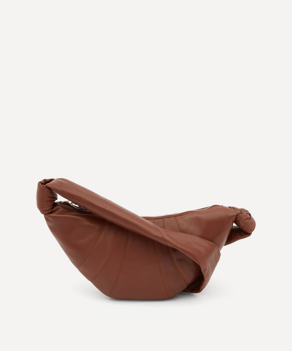 Lemaire - Small Leather Croissant Shoulder Bag