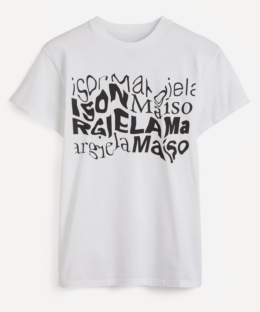 Maison Margiela - Logo Cotton T-Shirt