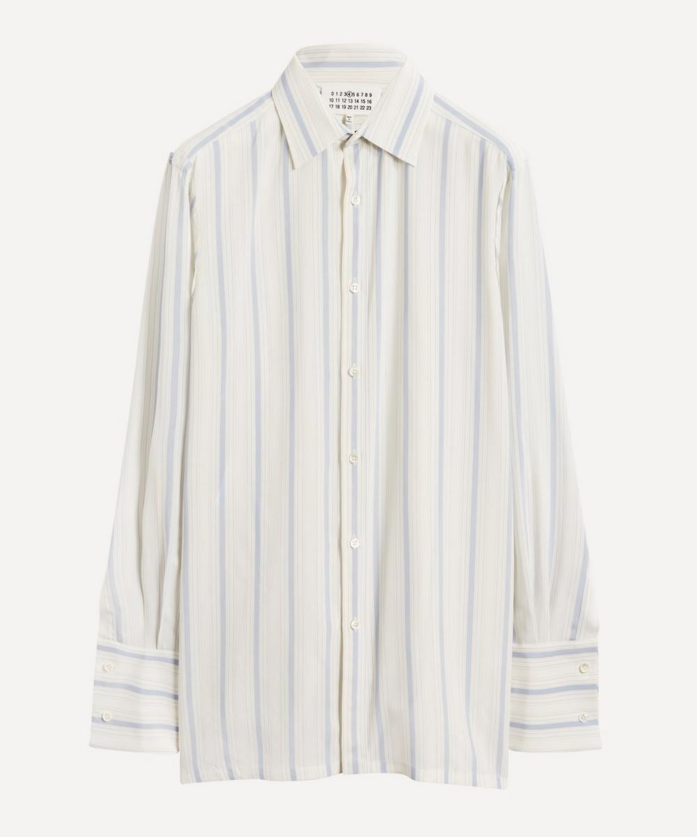 Maison Margiela - Frayed-Edge Stripe Shirt