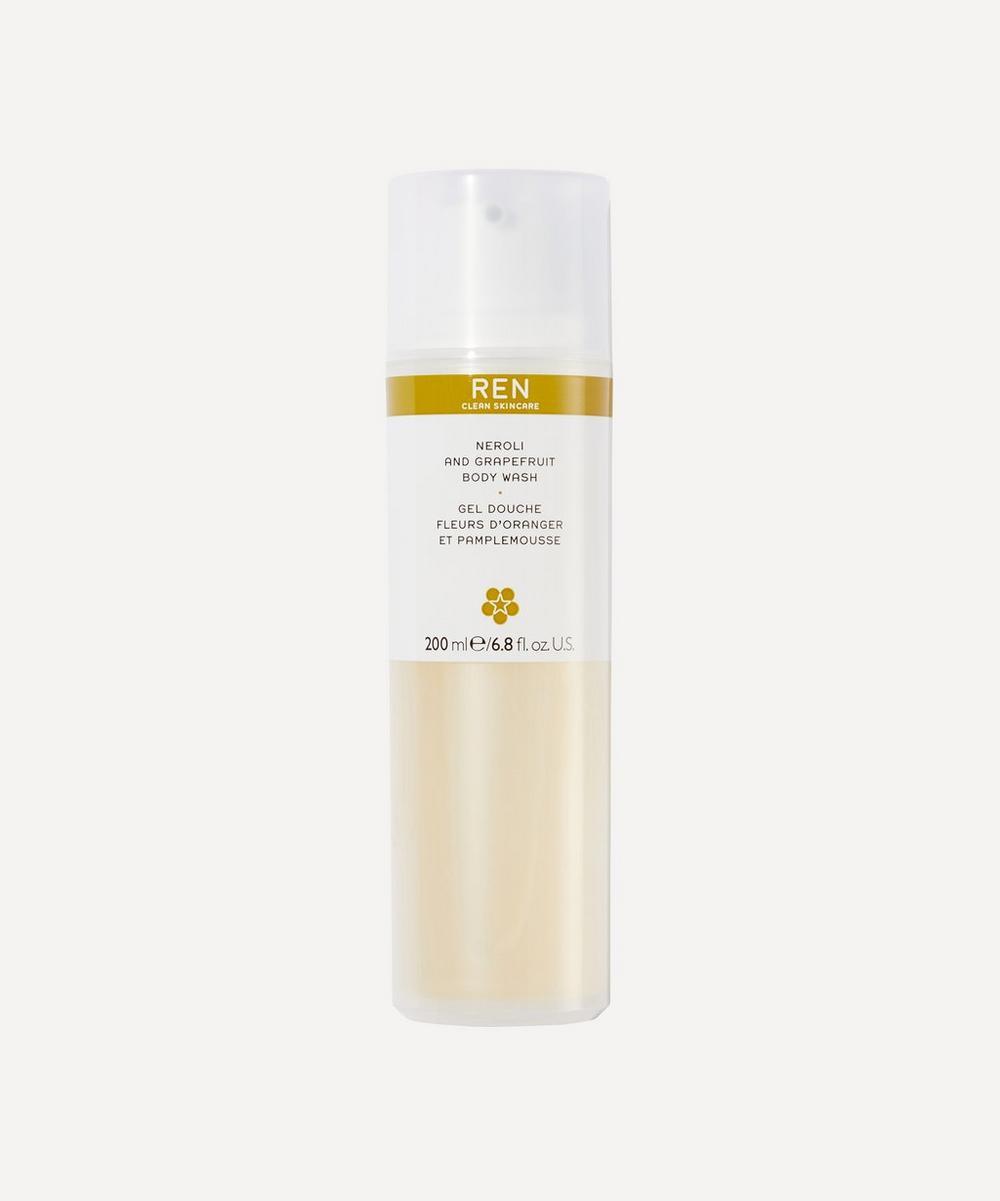 REN Clean Skincare - Neroli and Grapefruit Body Wash 200ml