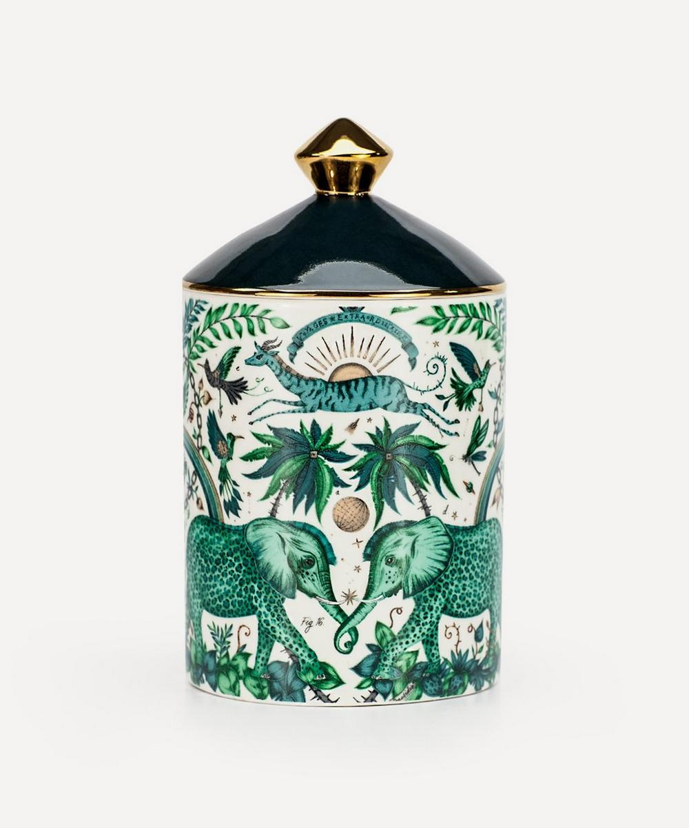 Emma J Shipley - Zambezi Bone China Vetiver and Demask Candle 650g