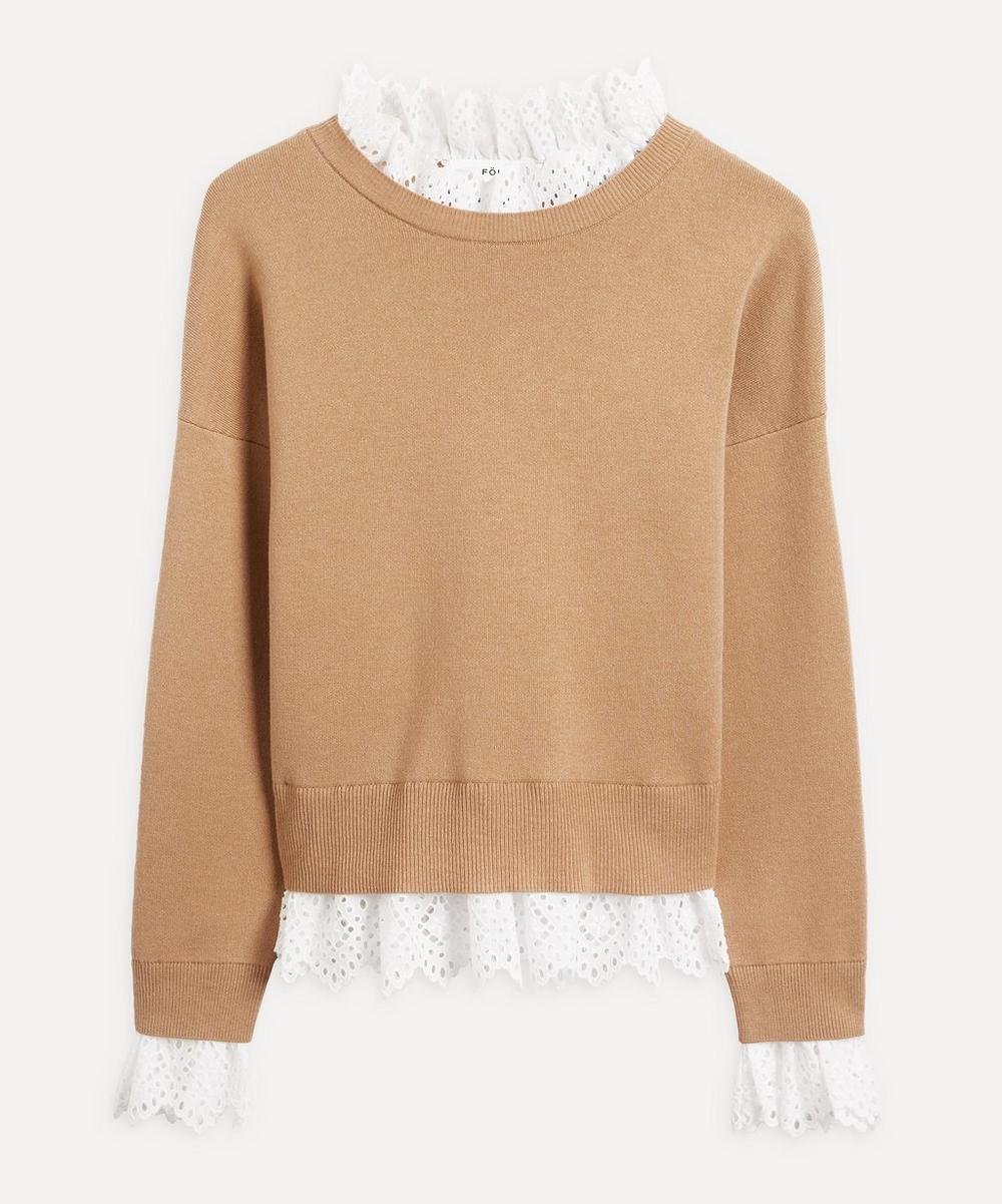 Enföld - Wool-Cotton Frill Knit