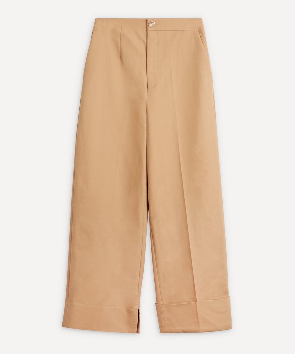 Enföld - Wide-Leg Cotton Trousers