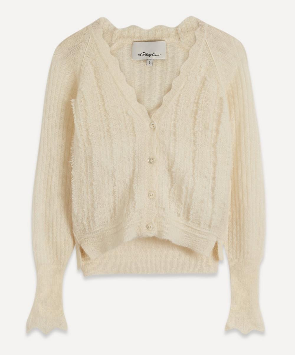 3.1 Phillip Lim - Pointelle-Knit Alpaca-Blend Cardigan