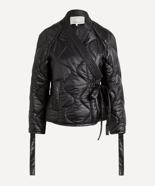 3.1 Phillip Lim - Padded Nylon Utility Kimono Jacket