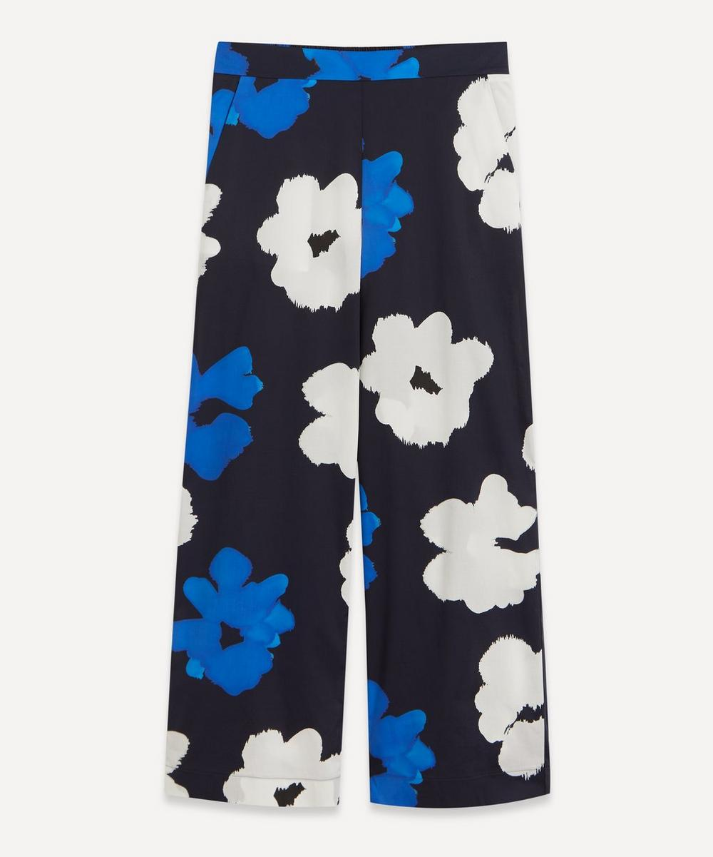 Piazza Sempione - Floral Cotton-Mix Trousers