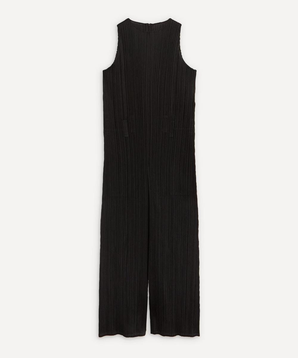 Pleats Please Issey Miyake - Dec Monthly Colours Sleeveless Jumpsuit