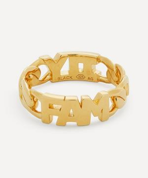 Gold-Plated Family Ring