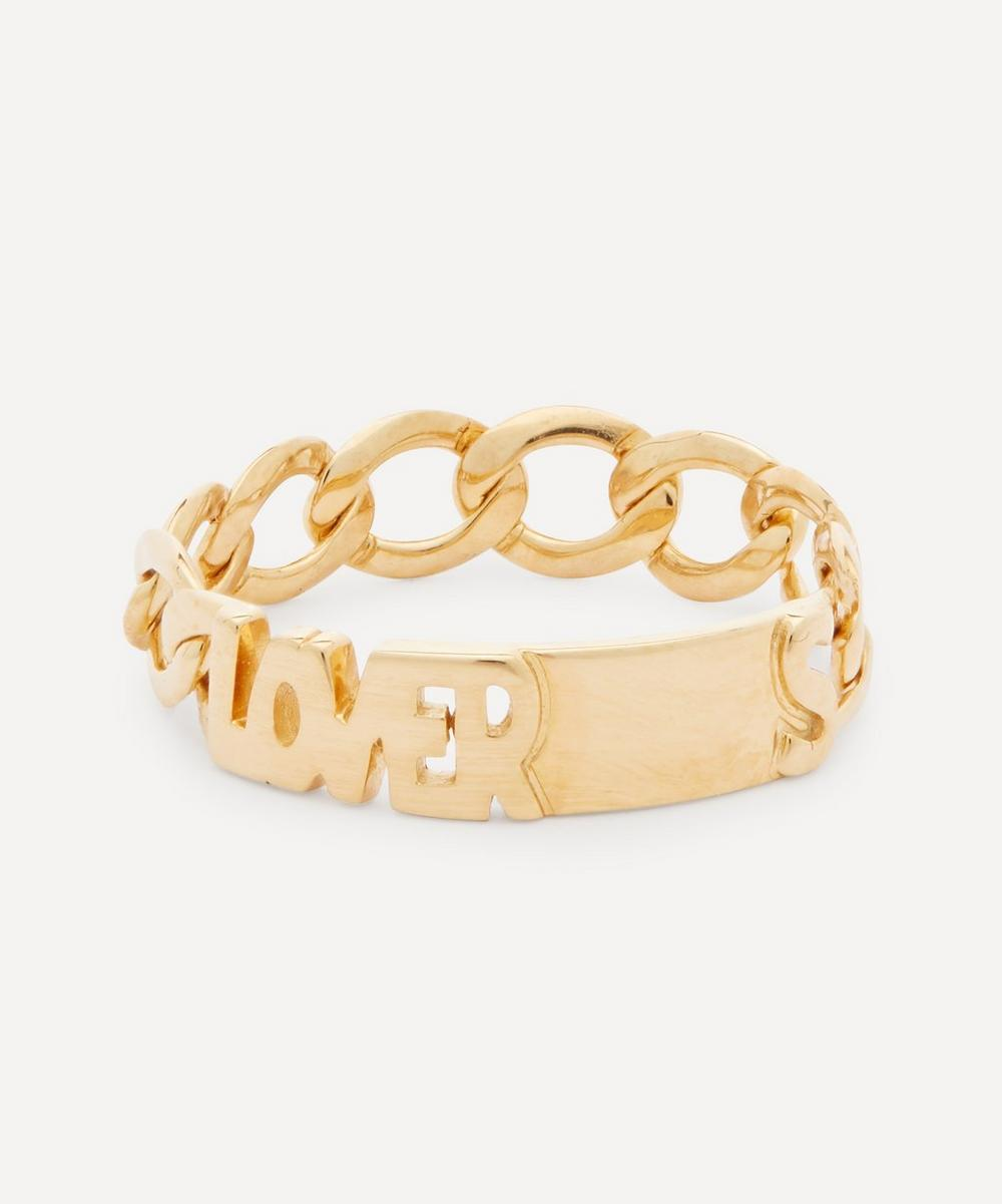 Maria Black - Gold-Plated Lovers Ring