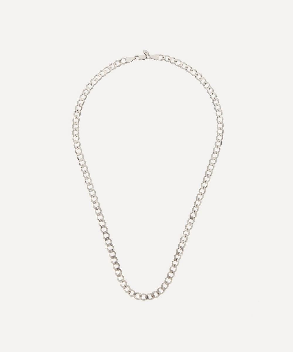 Maria Black - Rhodium-Plated Sterling Silver Forza Necklace