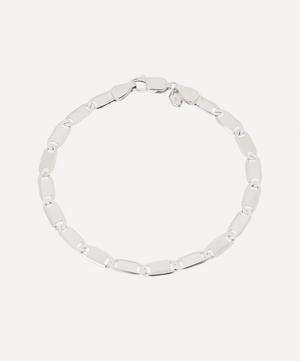 Rhodium-Plated Sterling Silver Medina Chain Bracelet