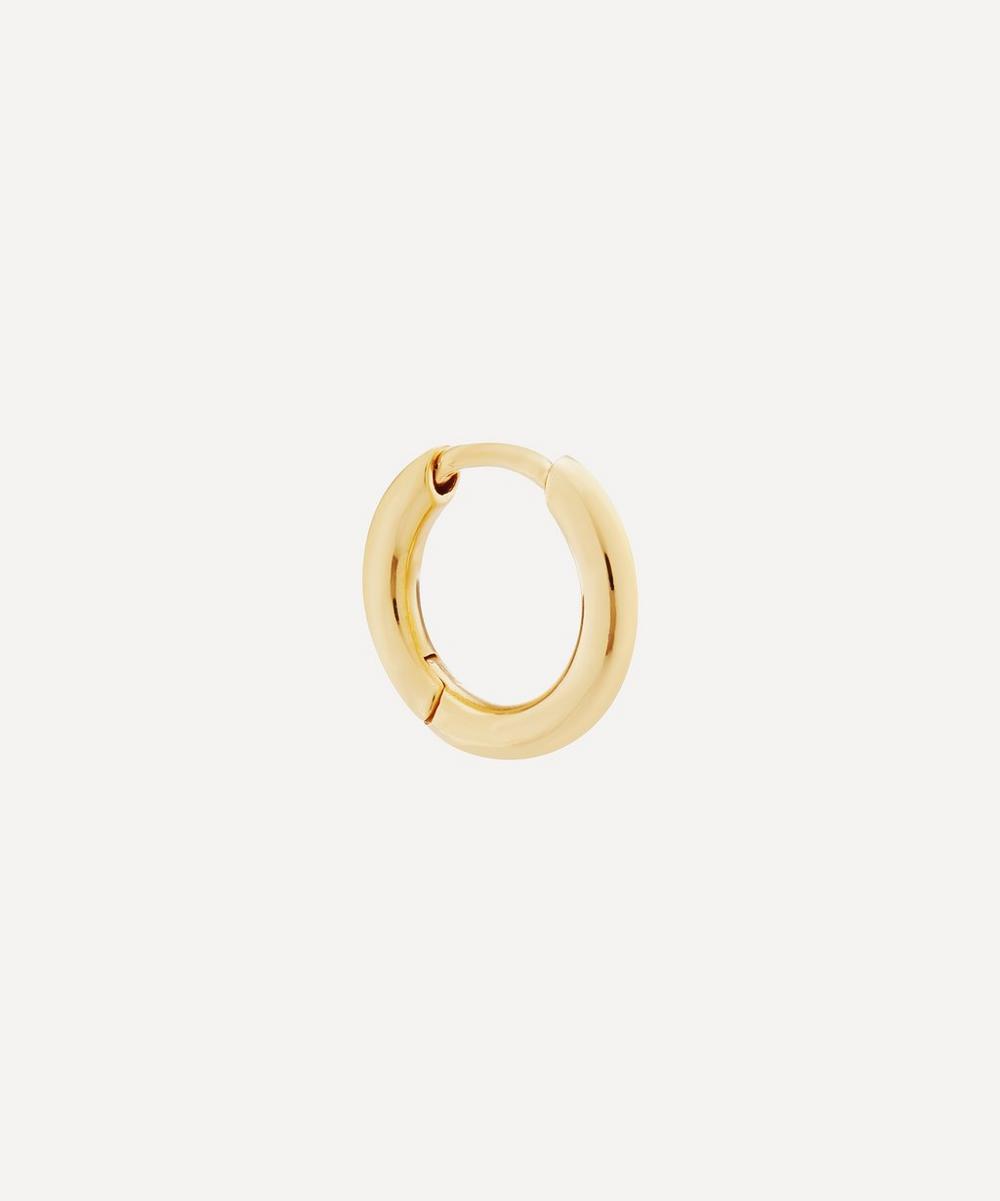 Maria Black - Gold-Plated Marco Huggie Hoop Earring
