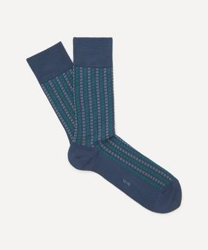 Pin Stripe Cotton Socks