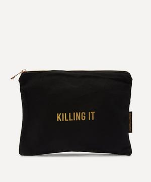 Killing It Cotton Wash Bag
