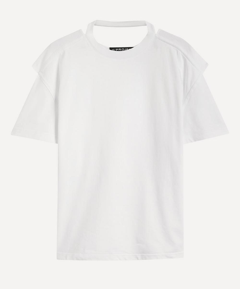 Y/PROJECT - Convertible Cotton T-Shirt