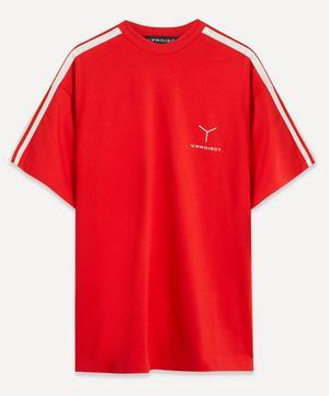Logo Clip Shoulder Oversized T-Shirt
