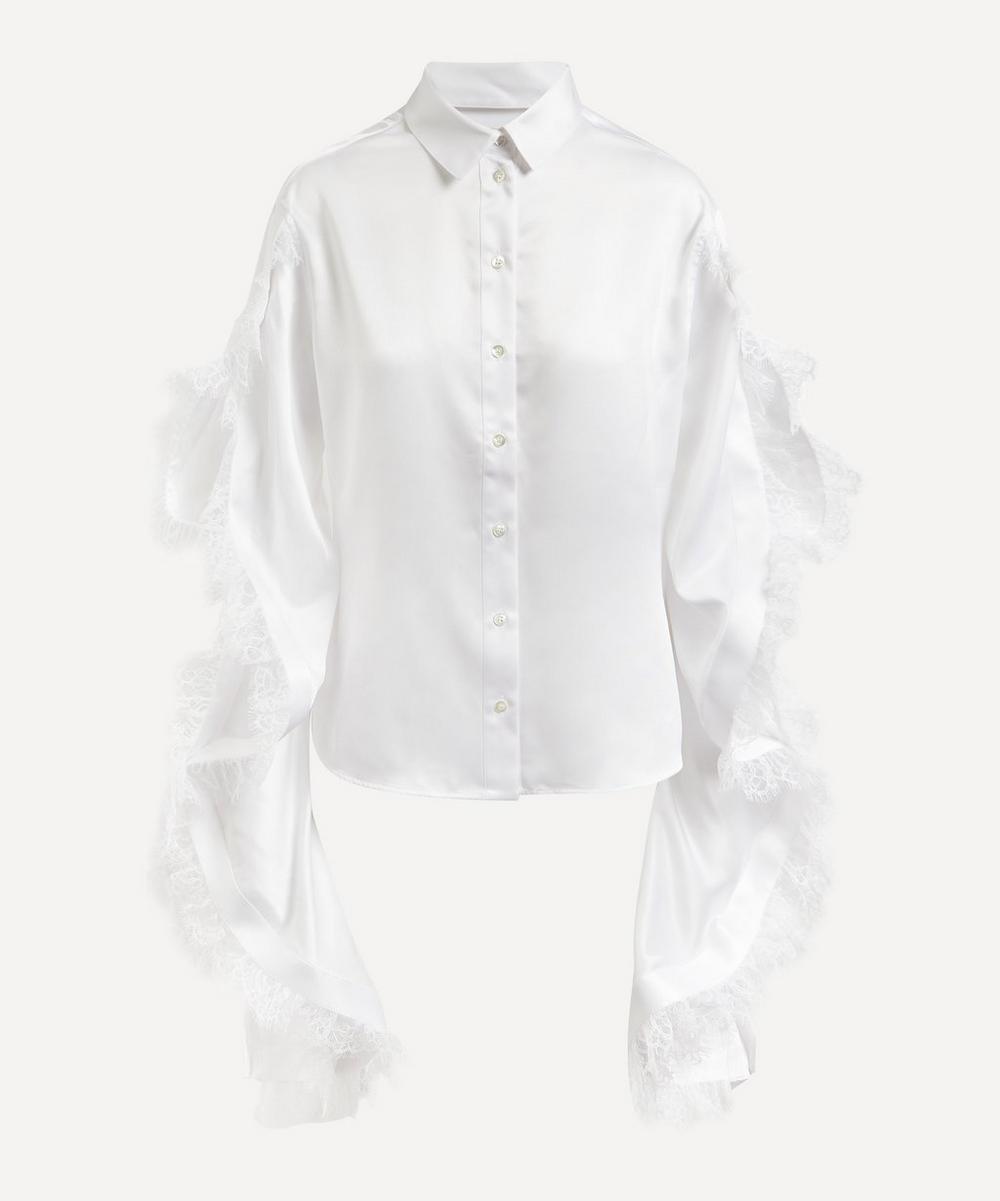 Y/PROJECT - Ruffle Sleeve Shirt